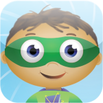 image of Wyatt, from Super Why facing forward.